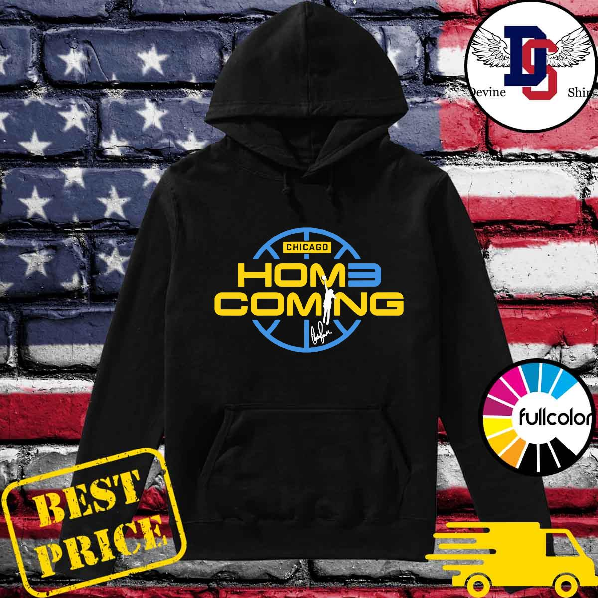 Official Chicago Home Coming Shirt Hoodie
