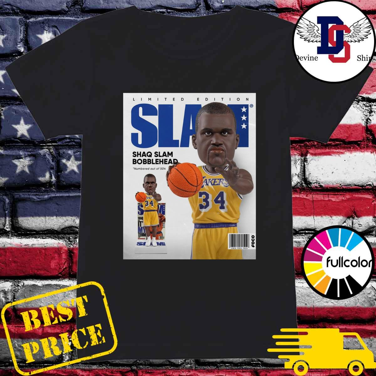 Official SLAM Bobblehead – Shaquille O'Neal Shirt Ladies