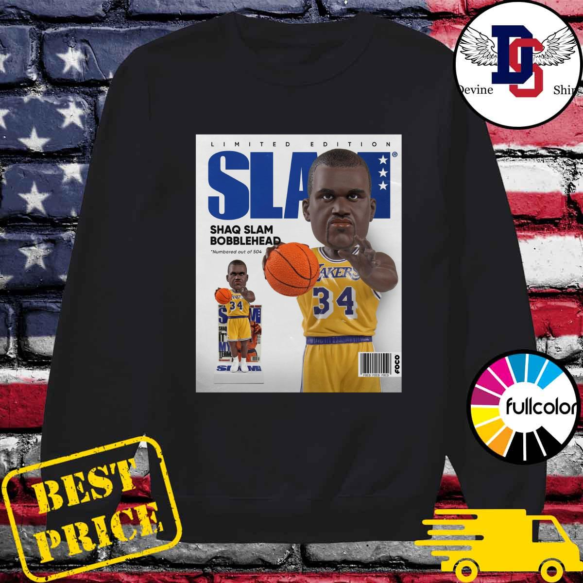 Official SLAM Bobblehead – Shaquille O'Neal Shirt Sweater