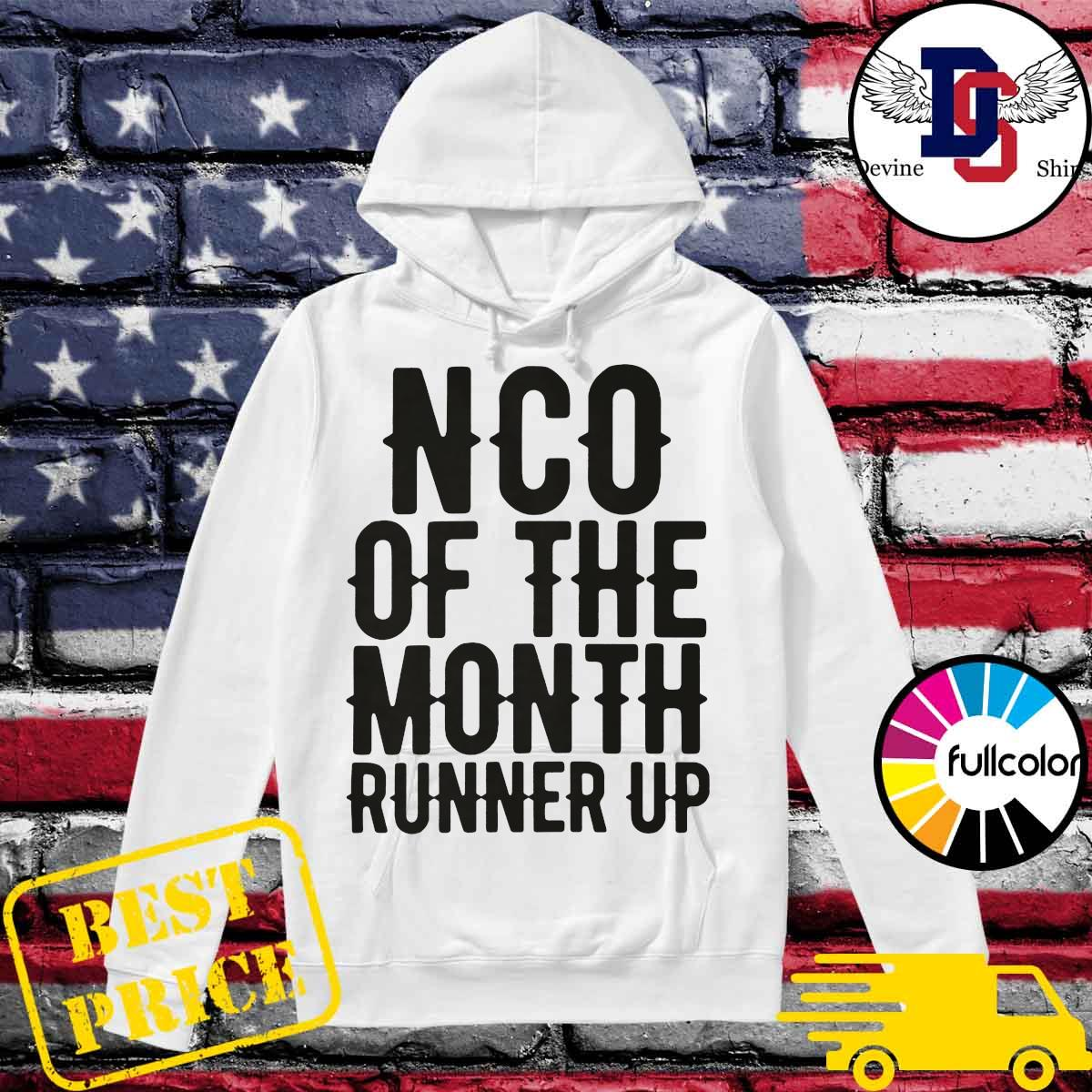 NCO of the month runner up s Hoodie