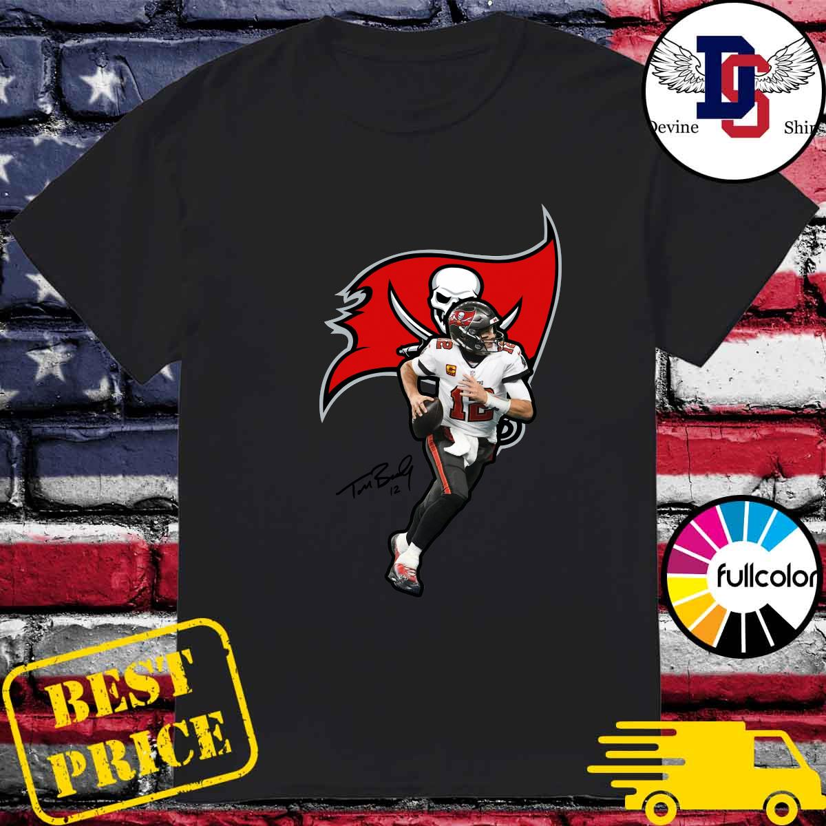 2021 Tom Brady Of Tampa Bay Buccaneers Shirt