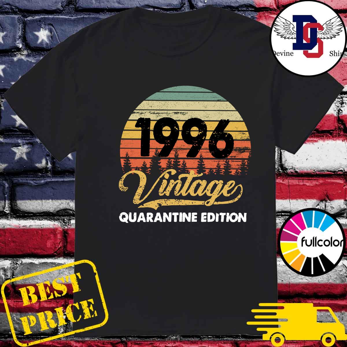 Official Vintage 1996 Quarantine Edition Shirt