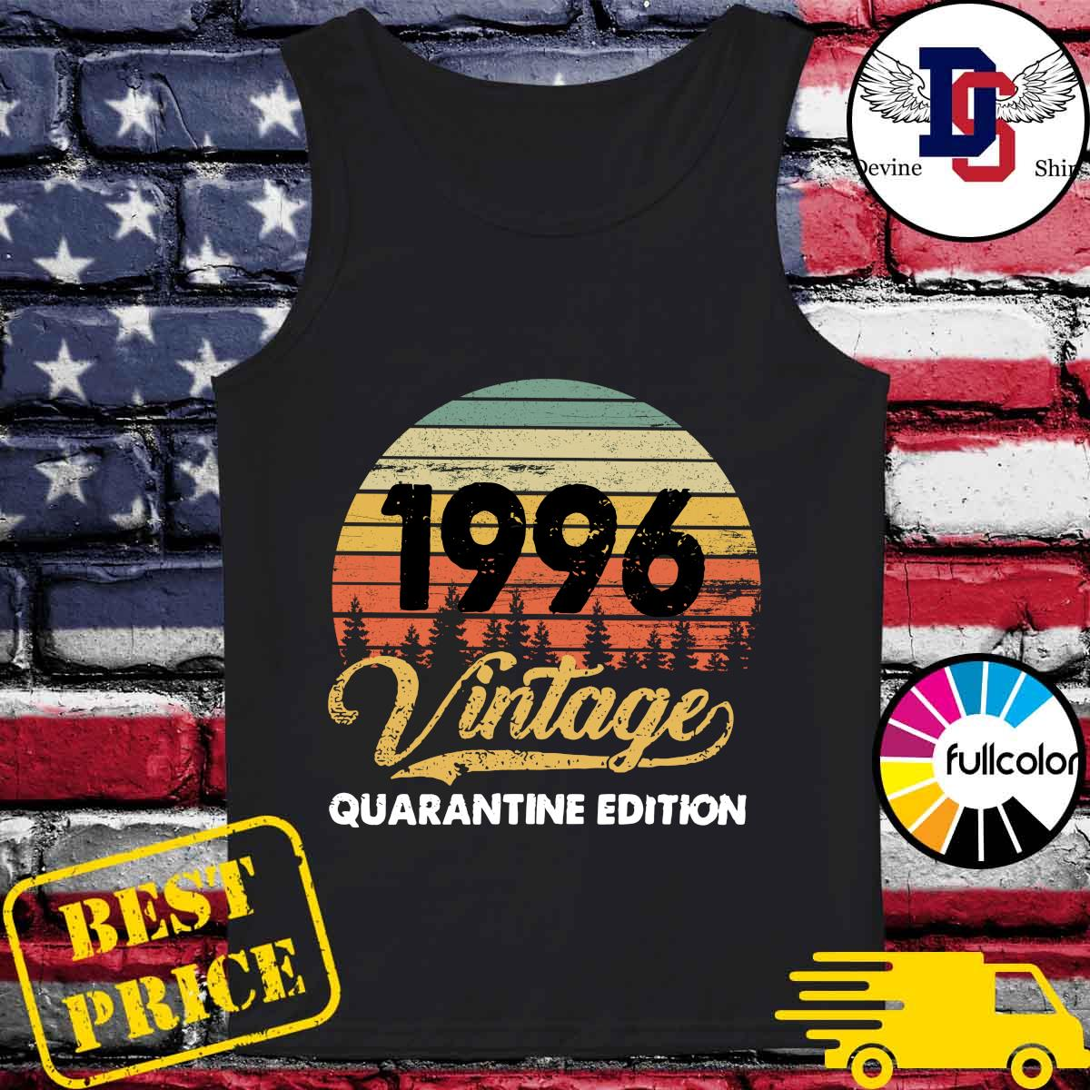 Official Vintage 1996 Quarantine Edition Shirt Tank-top