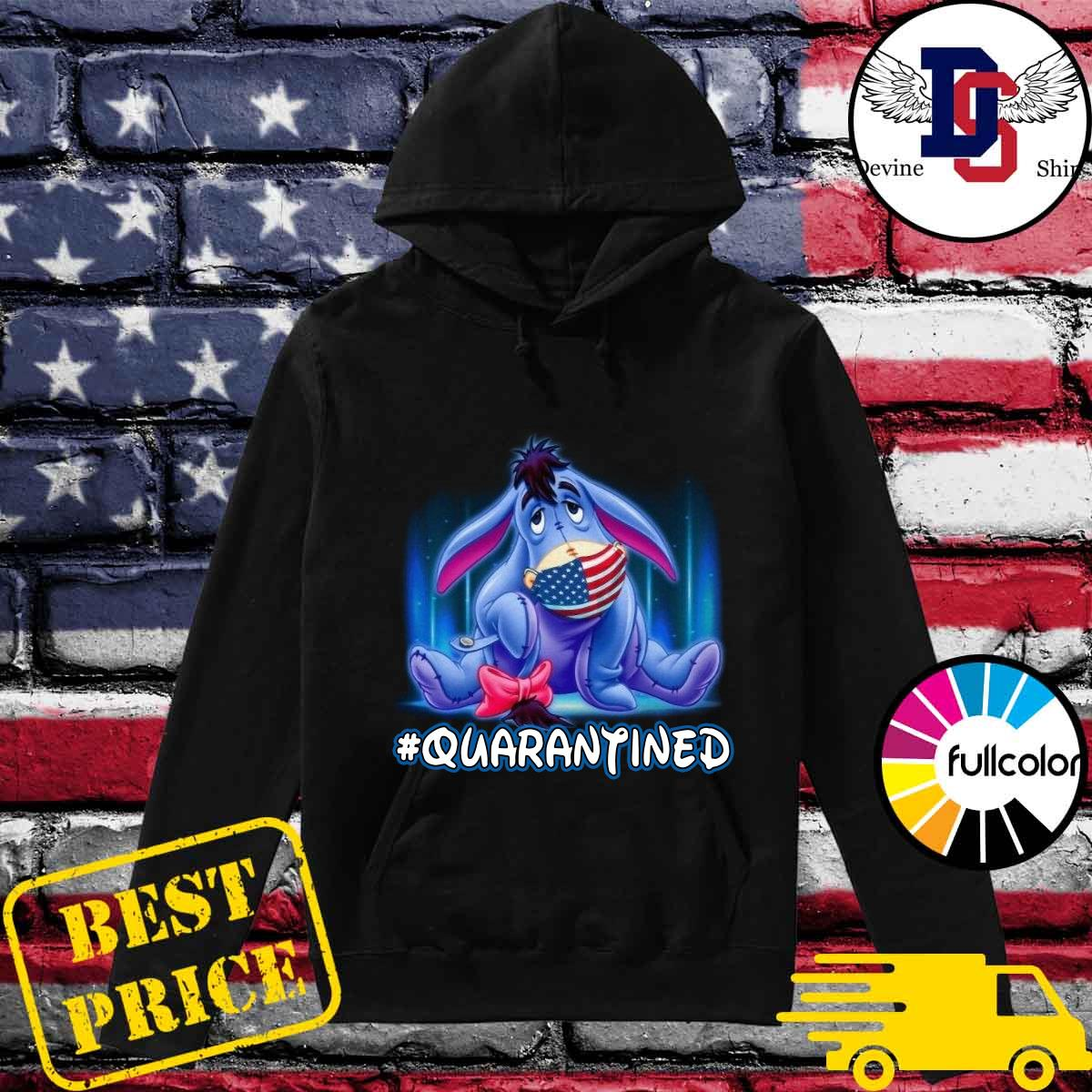 The Eeyore American Flag Face Mask 2021 Quarantined Shirt Hoodie