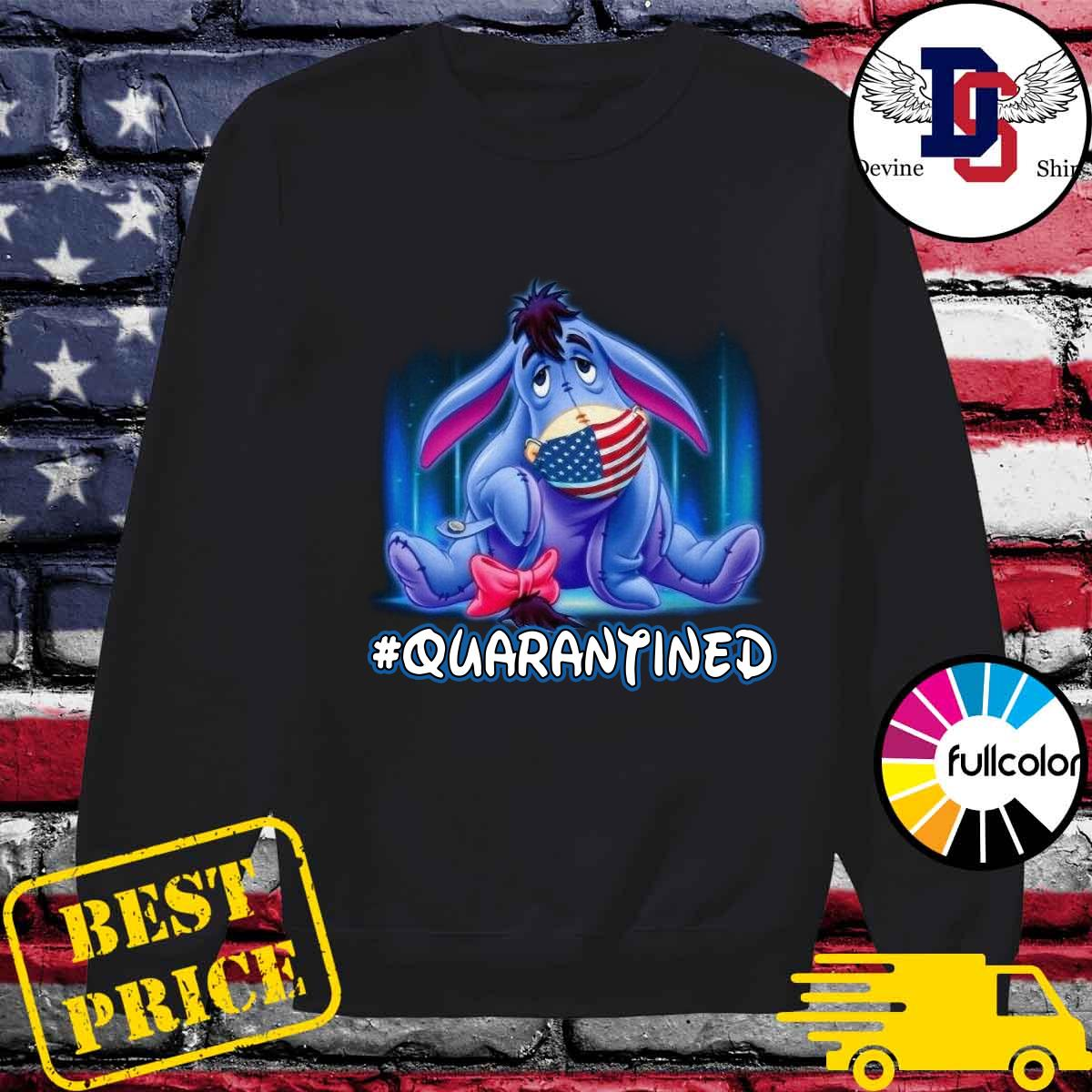 The Eeyore American Flag Face Mask 2021 Quarantined Shirt Sweater