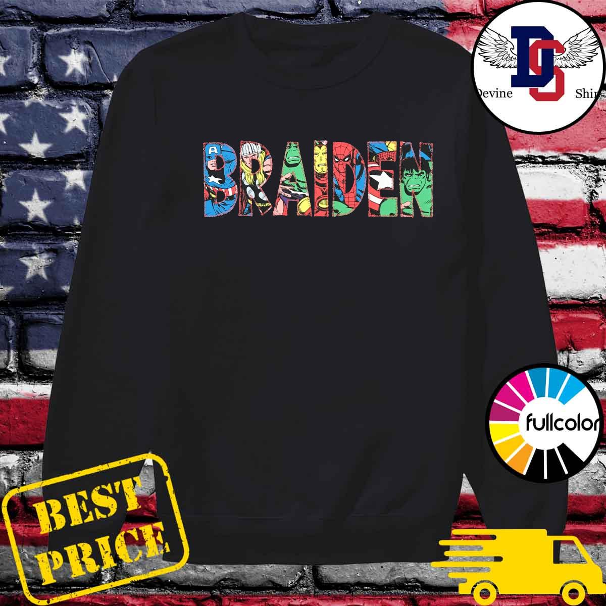 Official Braiden 2021 Shirt Sweater