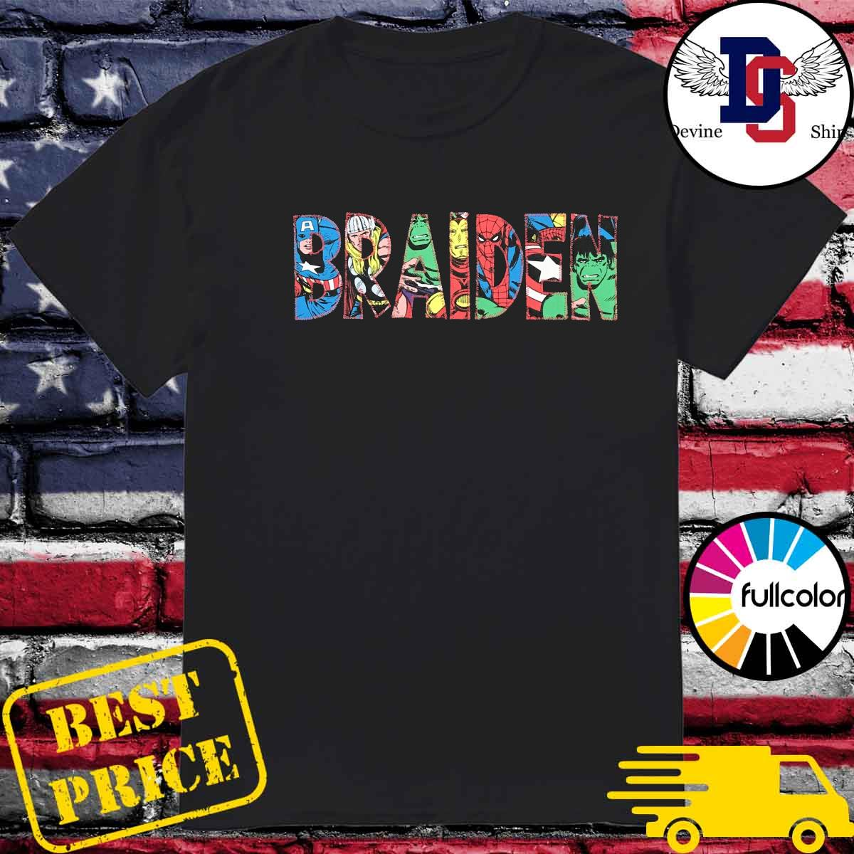 Official Braiden 2021 Shirt