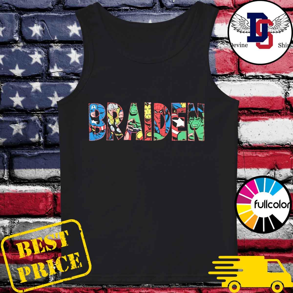 Official Braiden 2021 Shirt Tank-top