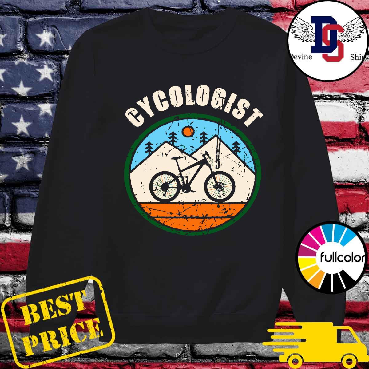 Official Cycologist Bicycle s Sweater