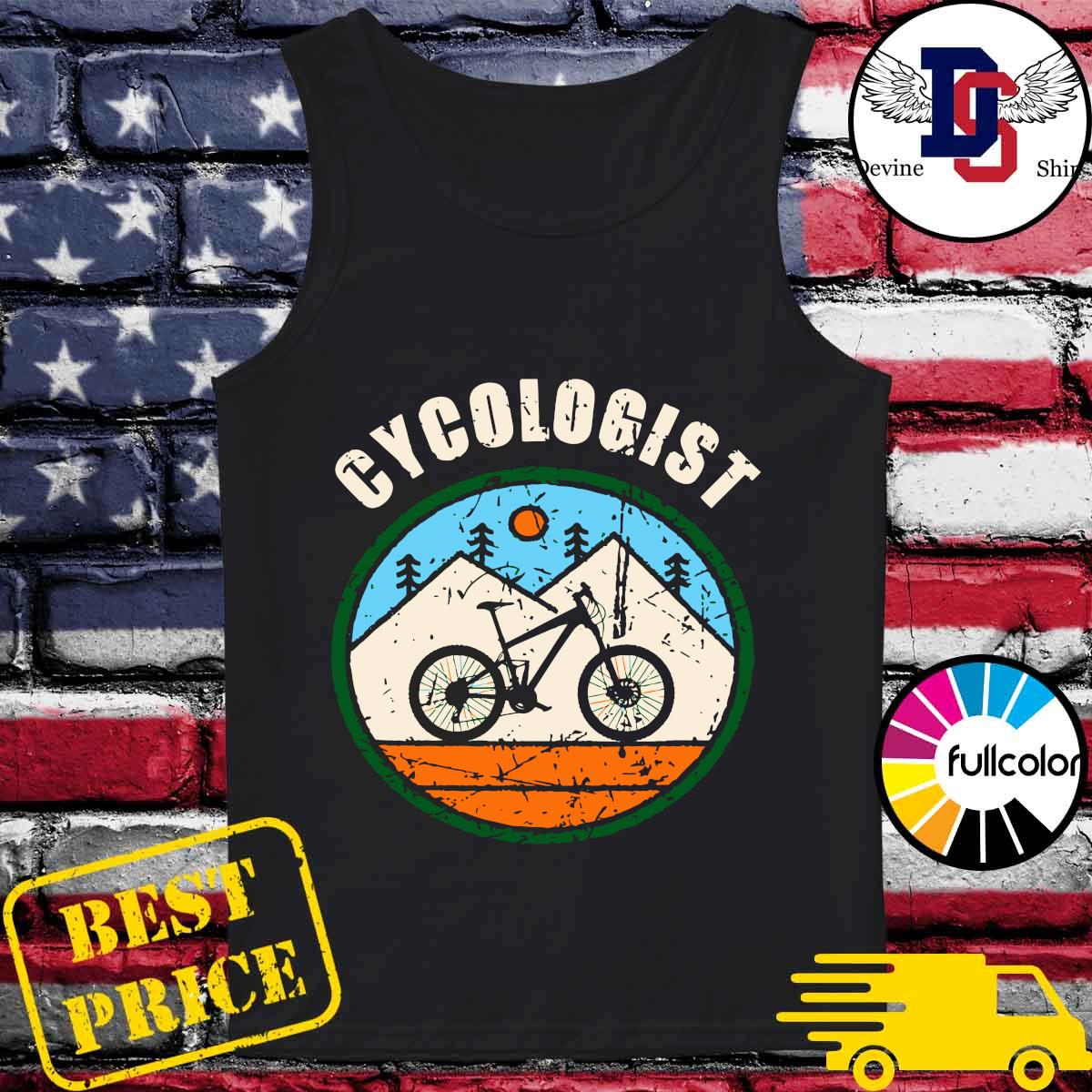 Official Cycologist Bicycle s Tank-top