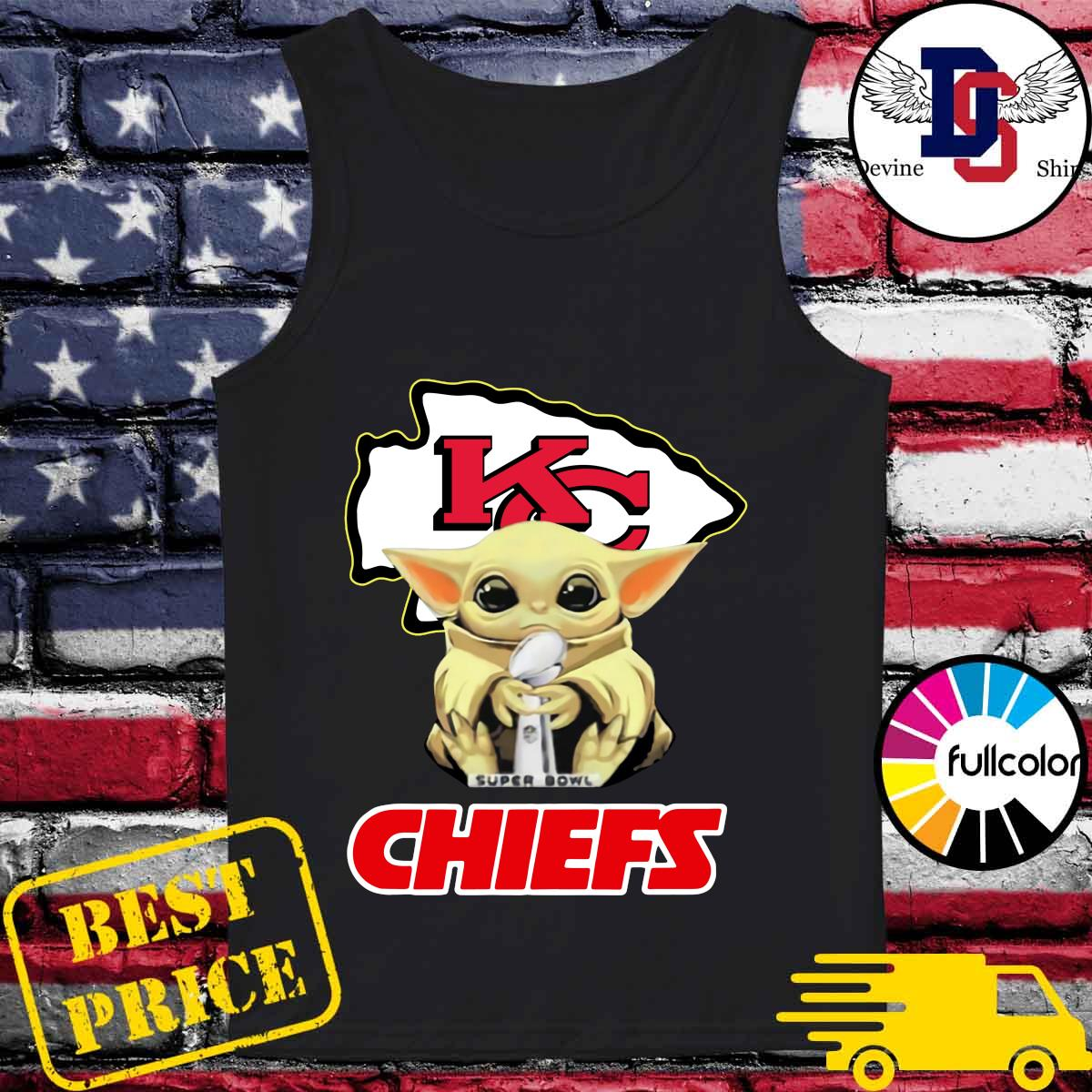 Official Kansas City Chiefs With Baby Yoda Hug Super Bowl Cup Champions 2021 Shirt Tank-top